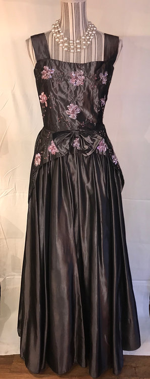 Gertrude Carol couture gown