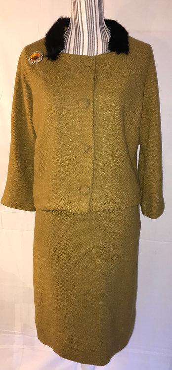 Circa 1960 wool suit