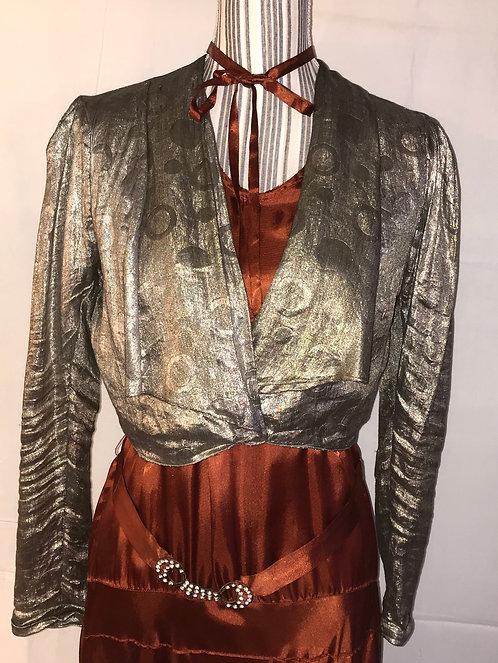 1930s Lamé jacket