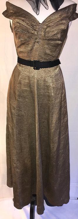 1930s Lamé gown