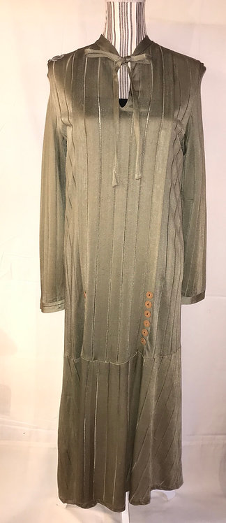 1920s Jersey day dress