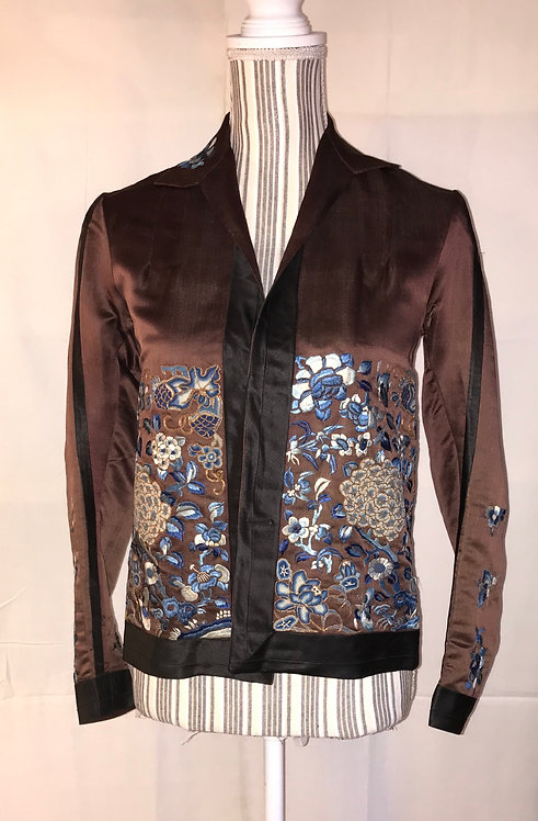1930s Chinese silk jacket