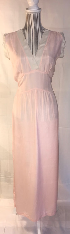 1940s Utility label night dress