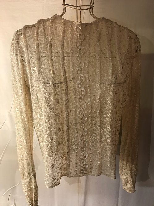 SOLD.1930s lace blouse