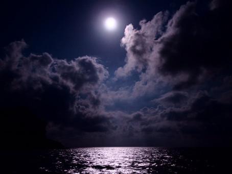 Море. Луна. Крым.