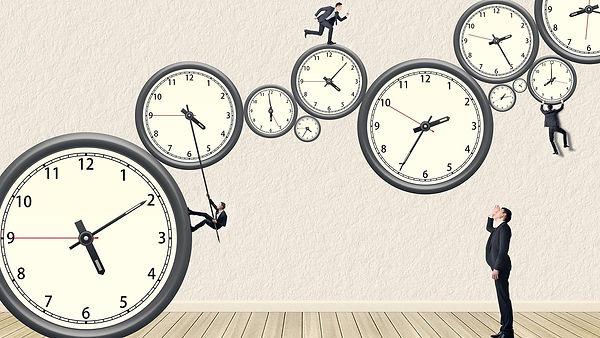 часы люди время таймменеджмент