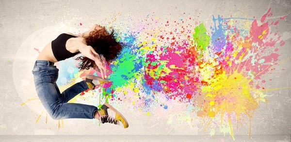 творчество арттерапия краски свобода