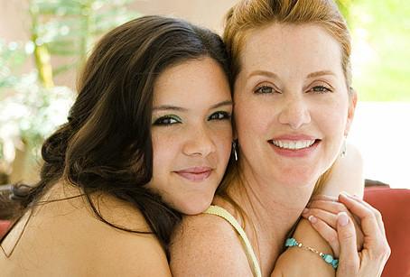 Мама и подруга