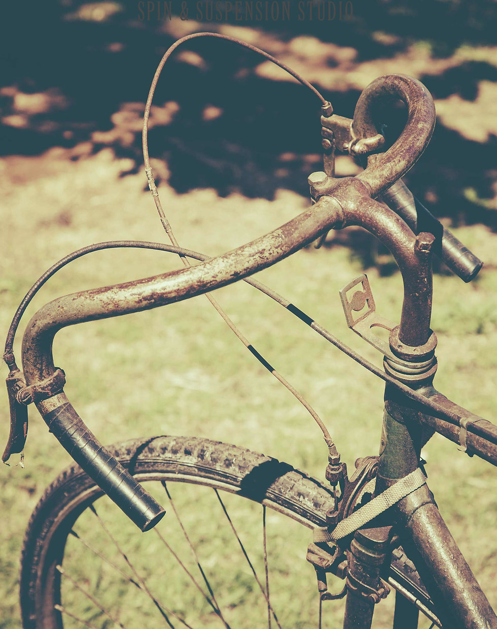 Old bicycle becoming new again