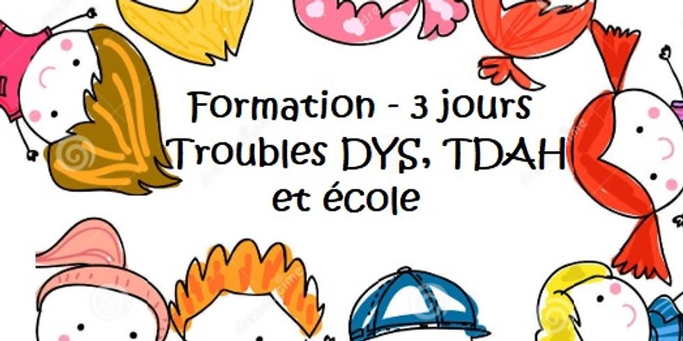 Formation DYS TDAH et école - 3 jours