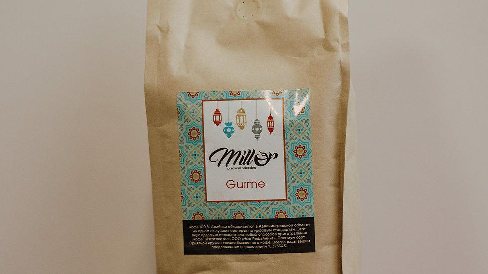 Кофе зерновой 100% Арабика Бленд GURME 1 кг.