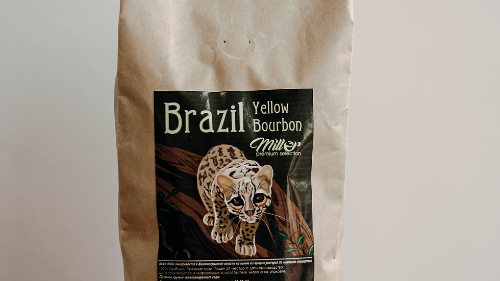 Кофе зерновой Brazil Yellow Bourbon 1 кг.