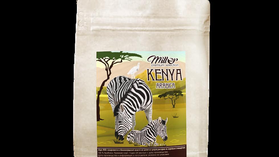 Кофе зерновой Кения АБ 250гр