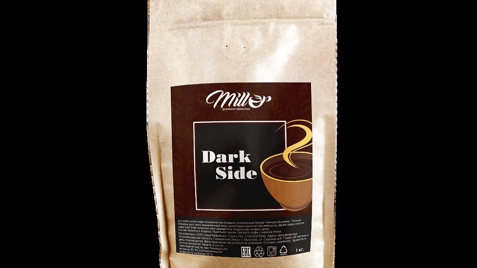 Кофе зерновой DarkSide 1кг, темная обжарка