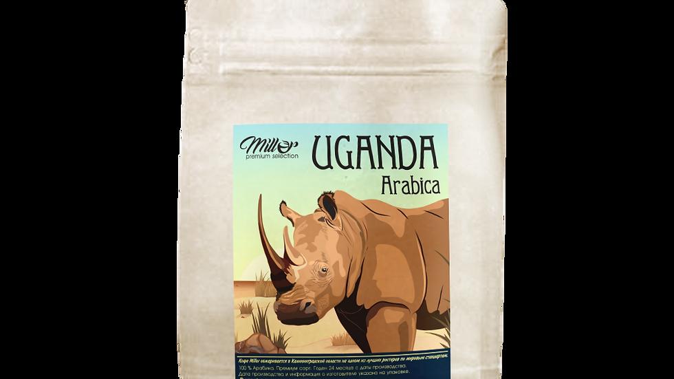 Кофе зерновой Уганда 250гр