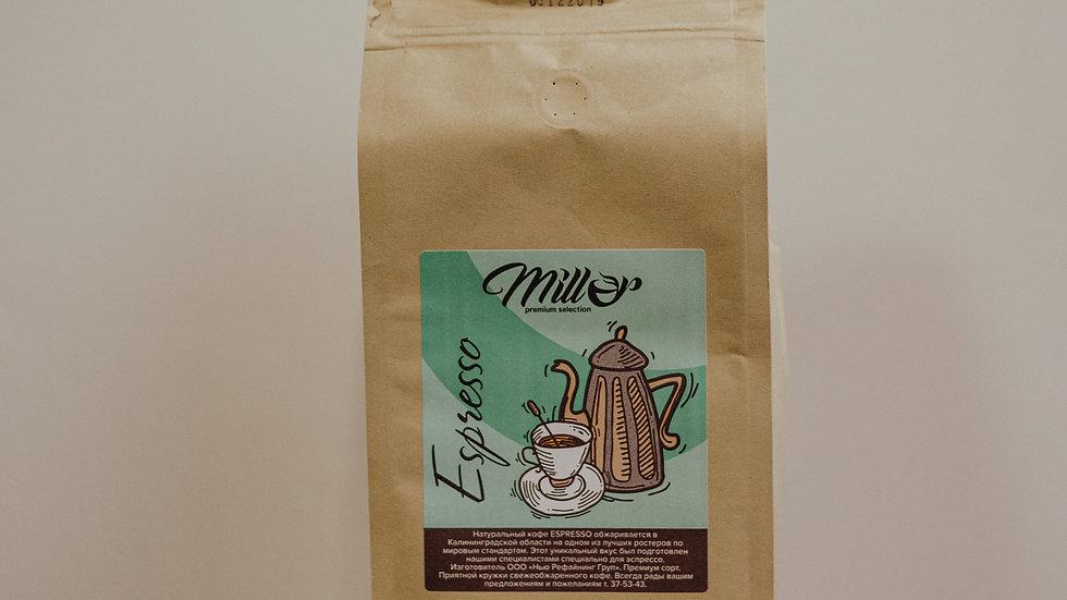 Кофе зерновой Бленд Espresso 1 кг.