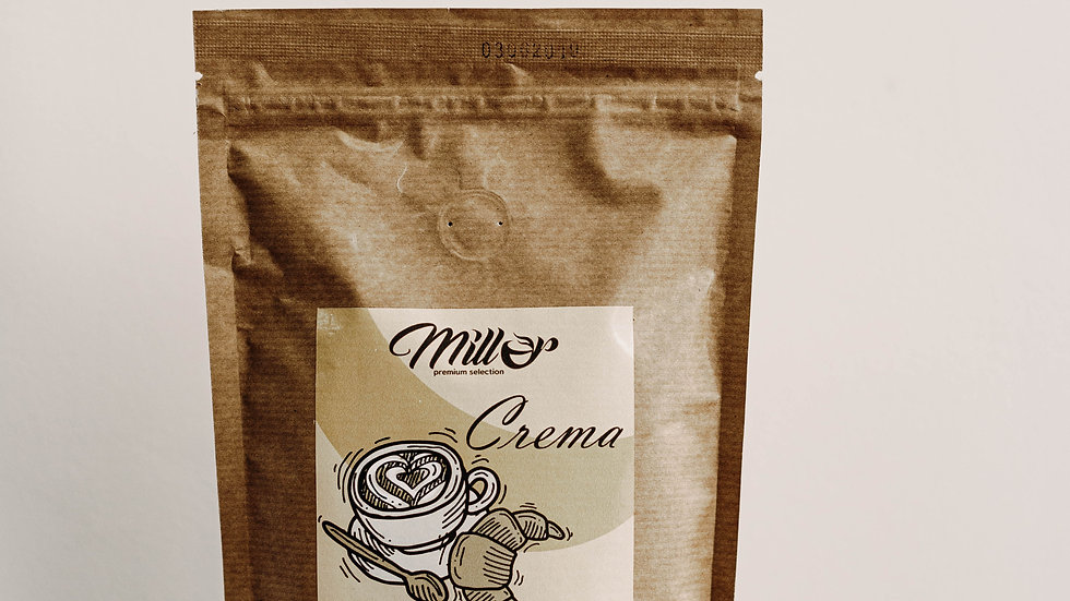Кофе зерновой Crema 250 гр.