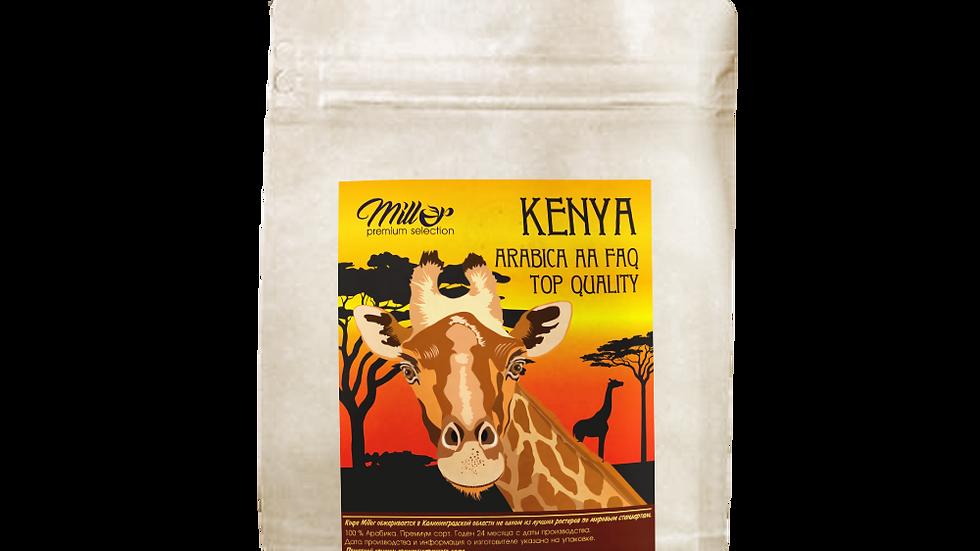 Кофе зерновой Кения АА 250гр