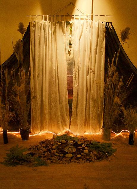 altar Saturday afternoon Nov 25- Bettina