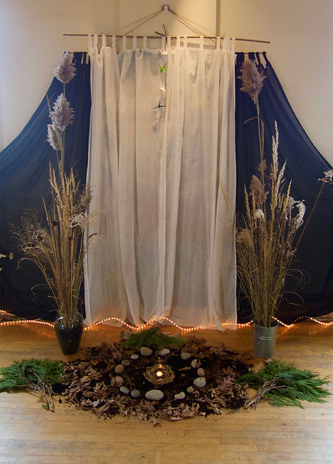 altar Saturday morning Nov 25- Bettina's