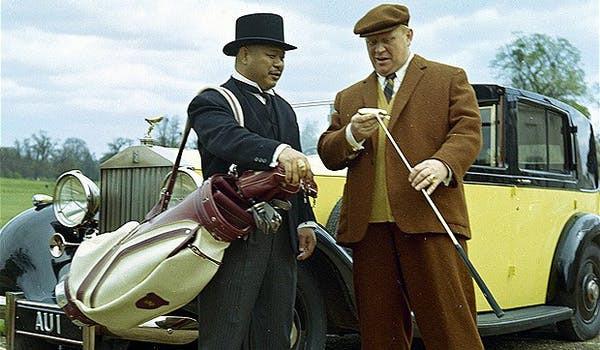 Rolls-Royce Phantom III Sedanca de Ville carrozado por Barker en la película Goldfinger de James Bond