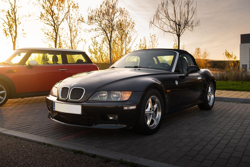 BMW Z3 chrome wheels