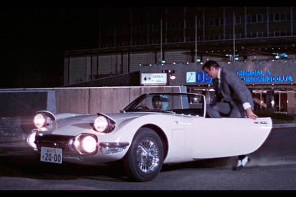 Toyota 200GT Cabrio del agente James Bond 007 (Sean Connery)