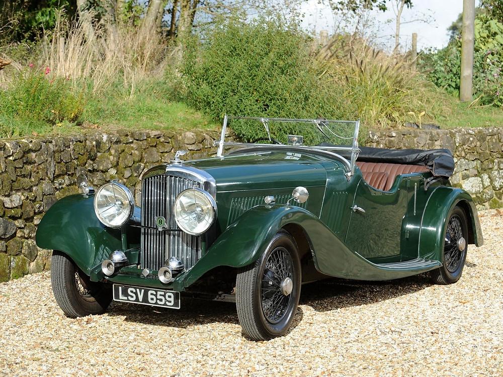 Bentley 3 1/2o Derby Bentley de James Bond 007 (Sean Connery)