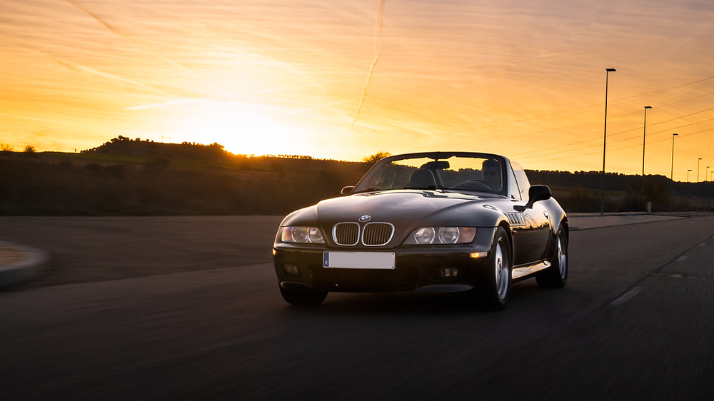 BMW Z3 2.8 rolling