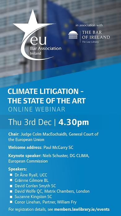 EUBA Climate Litigation Webinar (TV Scre