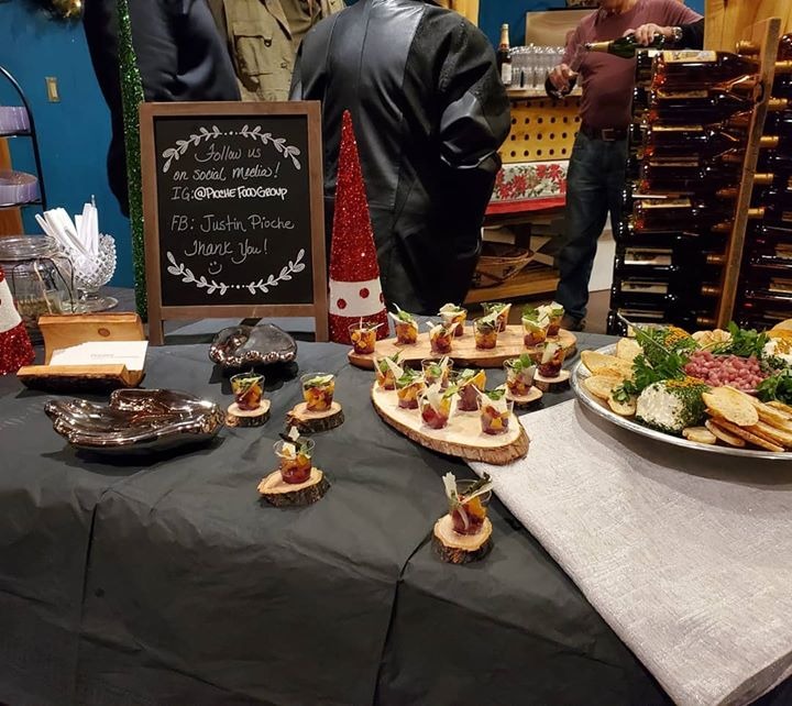 Hors d'oeuvres for  Wines of the San Juan