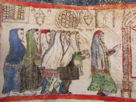 Illuminated Megillat Esther of Renaissance Italy