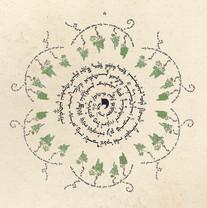 Spiral Vines Blessing Art
