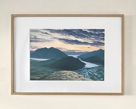 Windy Point Print