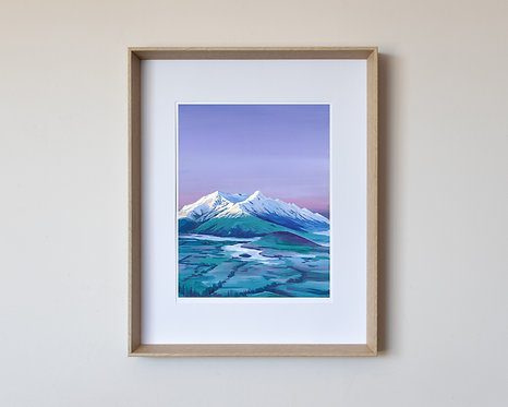 11x14 inch print with 1cm border in 16x20 frame
