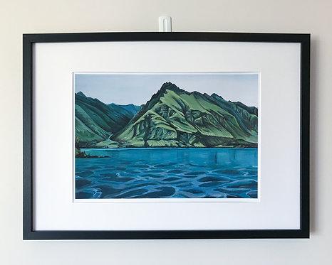 Walter Peak Print