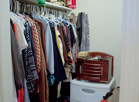 5 Simple Closet Organizing Tips