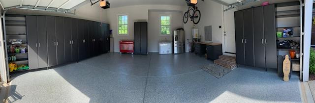 Garage Installed in Village of Providence in Huntsville, AL.