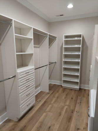 Closet Installed in Curry, AL