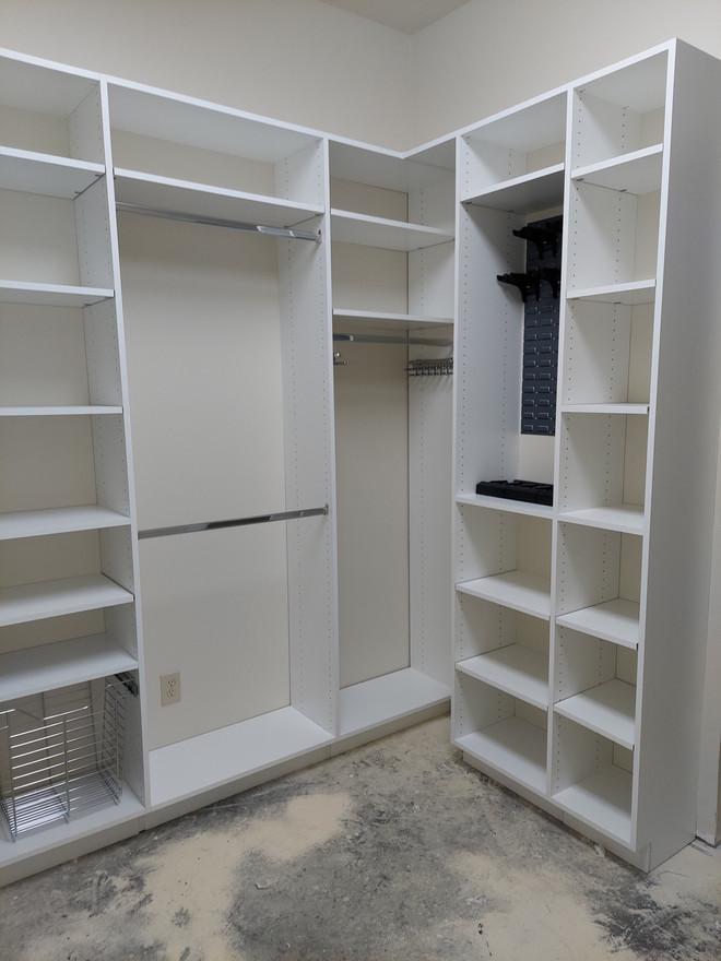 Closet w/ Gun Storage Installed in Columbus, MS