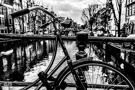 """Bike on the Canal"" Amsterdam, Holland (2014)"