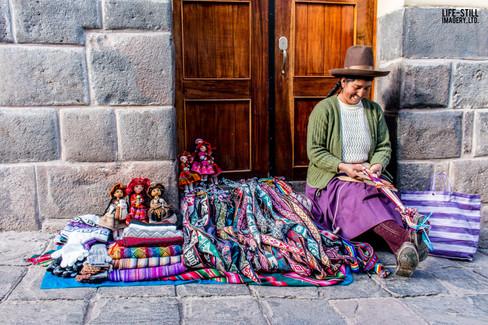 """""""The Dollmaker"""" Cusco, Peru (2015)"""