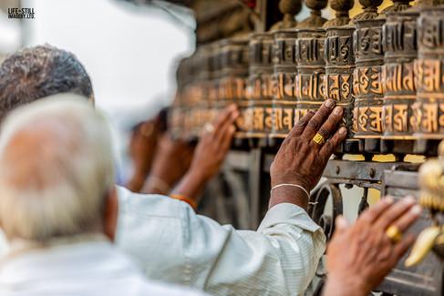 """""""Prayers of the Faithful"""" Kathmandu, Nepal (2019)"""