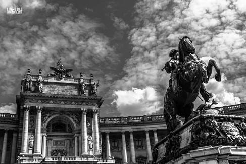 """""""The Iron Horseman"""" Vienna, Austria (2017)"""