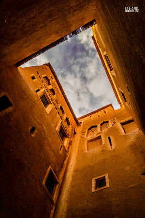 """A Ouarzazate Sky"" Ouarzazate, Morocco (2017)"
