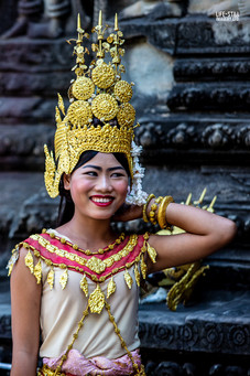 """The Khmer Dancer"" Angkor Wat, Cambodia (2018)"