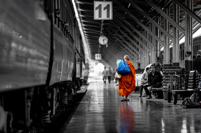 """""""2:28pm, Platform 11"""" Bangkok, Thailand (2019)"""