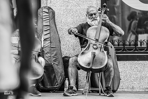 """The Celloist"" Madrid, Spain (2019)"