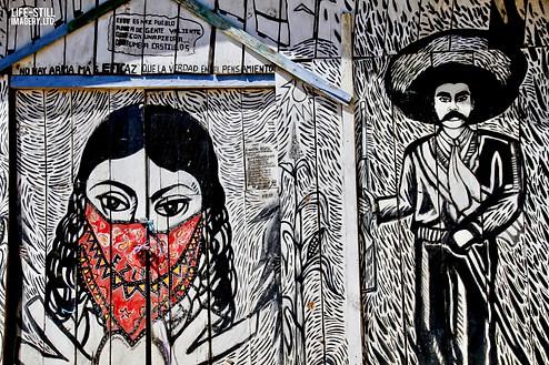 """""""Revolutionary Equality,"""" Oventik, Zapatista Autonomous Municipality, Chiapas, Mexico (2017)"""