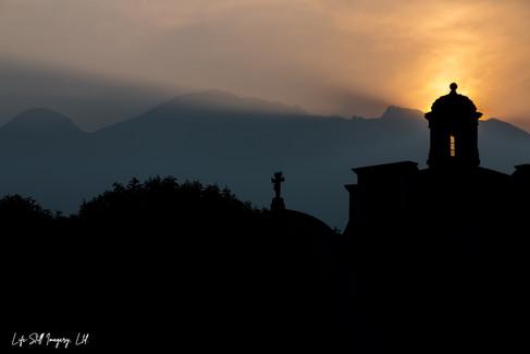 """""""Sunrise over Amecameca"""" Amecameca, Mexico (2016)"""